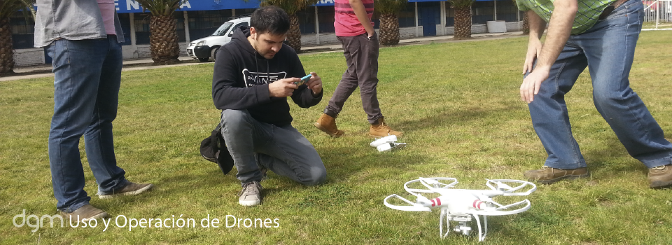 Operación de Drones